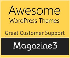 Magazine3 WordPress Premium Themes