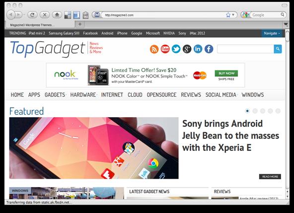 """TopGadget WordPress Theme by Magazine3"""